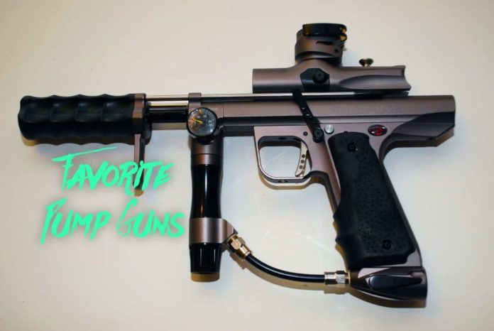 pump guns